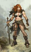 Diablo III: Варвар женщина